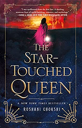 book cover of The Star-Touched Queen