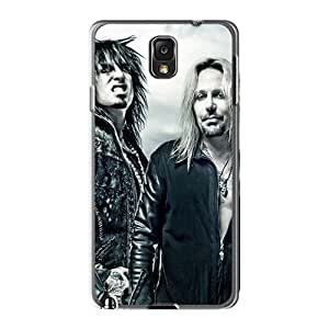 Protective Hard Cell-phone Cases For Samsung Galaxy Note3 (uAn13317Neub) Customized Colorful Motley Crue Band Image