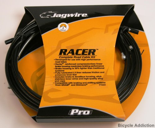 Jagwire Road Pro Xl Complete Kit, Black