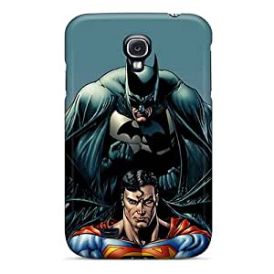 Premium Batman And Superman Heavy-duty Protection Case For Galaxy S4