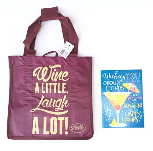 6 Bottle Reusable Wine Tote Bag from Sprouts Farmers Market