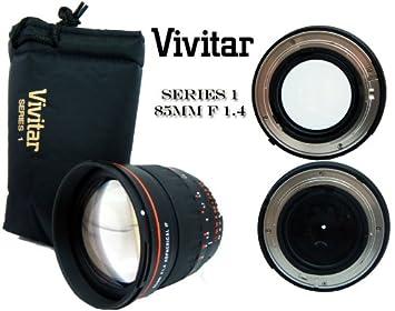 Vivitar Portrait 85 mm f/1.4 para Objetivo Sony Alpha Asférico ...