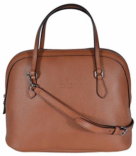 Gucci Women's Medium Textured Leather Convertible Dome Handbag (Saffron Tan 420023) - Handbags Women Gucci