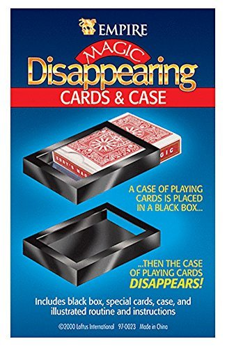 Loftus International Empire Magic Disappearing Cards and Case Novelty Item
