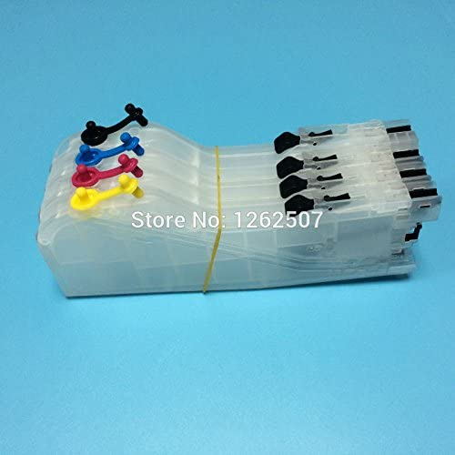 Printer Spare Parts Refillable Ink Cartridge for Brother Lc-163 Empty Cartridge for Brother Dcp-J152 Mfcj470 Mfcj870 Mfcj650 J552 J245 With Arc Chip