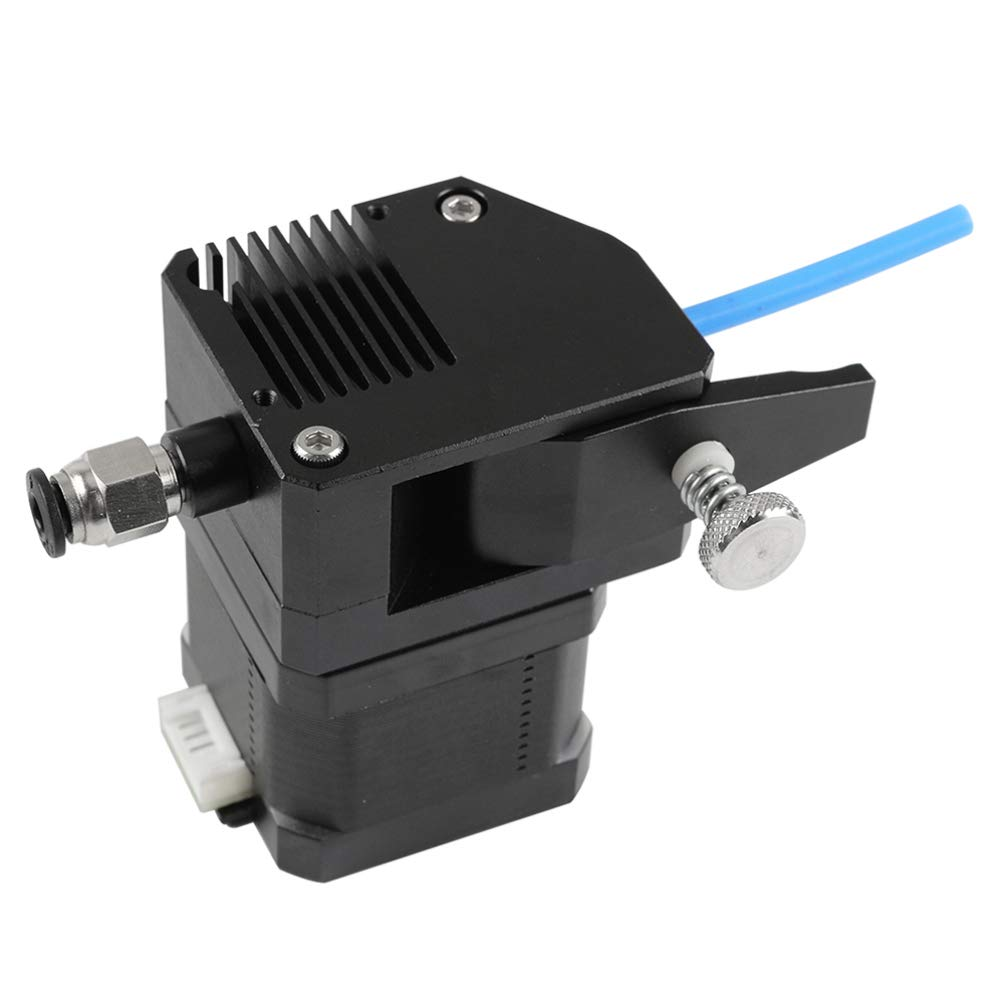 ULTECHNOVO MK8 BMG Extruder Dual Drive Extruder Filament Dual Gear 3D Printer Parts All Metal Extruder for Prusa I3,Cr-10 Right