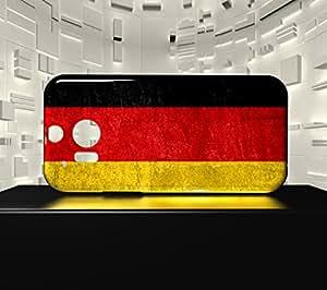 Funda Carcasa para HTC M8 Bandera ALEMANIA 01