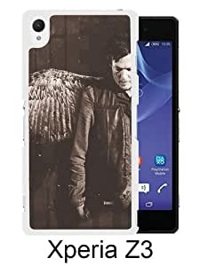 Sony Xperia Z3 Case ,Hot Sale And Popular Designed Sony Xperia Z3 Case With Daryl Dixon White Hight Quality Cover