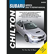 Subaru Impreza & WRX Automotive Repair Manual: 2002 to 2014