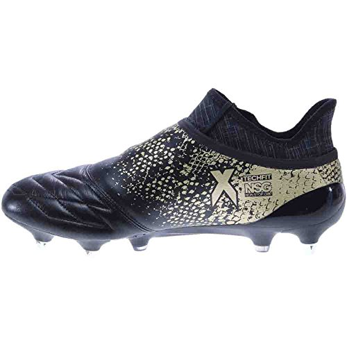 Adidas X 16+ Purechaos Zachte Ondergrond Leer Zwart, Goud