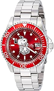 Invicta Men's Automatic Stainless Steel Casual Watch, Color:Silver-Toned (Model: 24784)