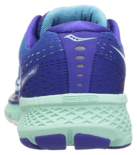 Breakthru Women's Saucony Shoe Running Blue Mint 3 d566Owx