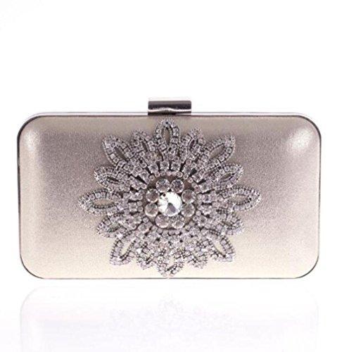 WLFHM Femme Sac Soirée Diamant Chaîne Gold Sac Coréen Sac De Mode De Sac En Pour Sac TBrxwHETq