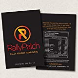 RallyPatch, The All Natural Way To Rally Against Hangovers! 10 Pack Of Premium Latex-Free Patches