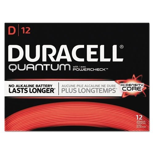 BATTERY,QUANTUM D by Duracell