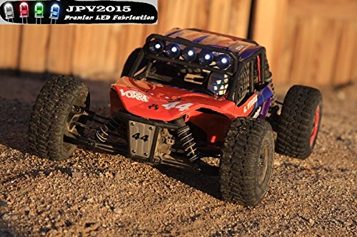 JPV2015 Genuine Product - RC LED Light Set for The Axial Exo Terra Buggy AX90015 Light Bar AX80085 5W4R - Premium Quality - Handmade in USA Exclusively (Kit Axial Exo Terra Buggy)