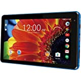 """RCA Premium High Performance Voyager 7"""" 16GB Touchscreen Tablet Computer Quad-Core 1.2Ghz Processor 1G Memory 16GB Hard Drive Webcam WiFi Bluetooth Android 6.0-Blue"""