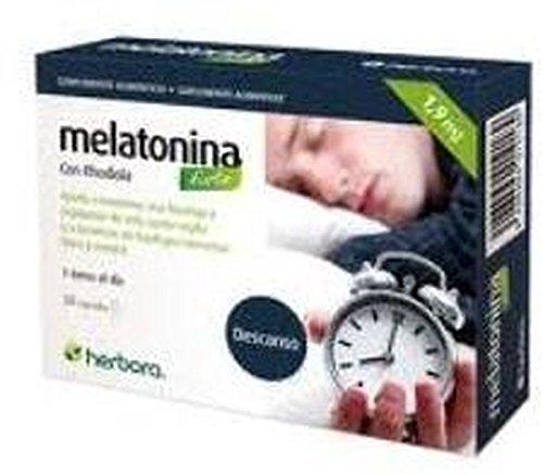 Melatonina Forte con Rhodiola 30 cápsulas de 1 mg de Herbora: Amazon.es: Salud y cuidado personal