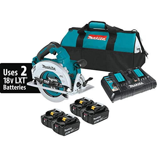 (Makita XSH06PT1 18V x2 LXT Lithium-Ion (36V) Brushless Cordless 7-1/4