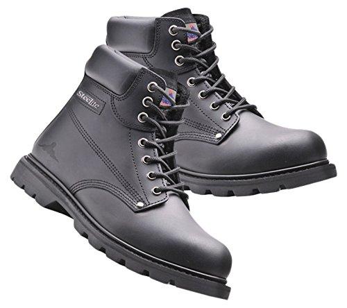 Bryson 180062 Goodyear-Stivali di sicurezza, taglia 47, colore: nero