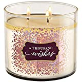 Bath & Body Works 3 wick 14.5 oz candle A Thousand Wishes