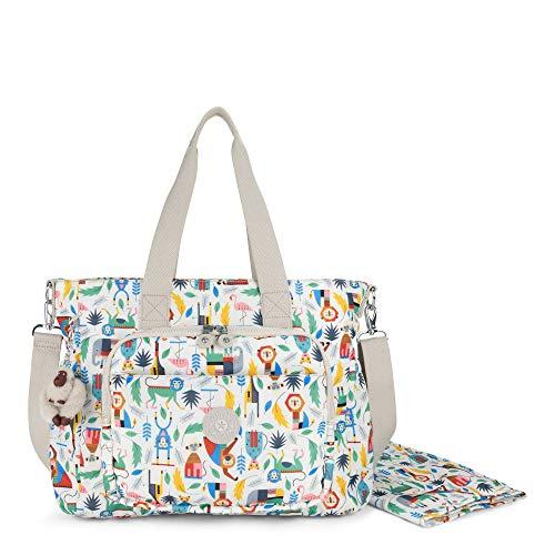 Kipling Miri Printed Diaper Bag One Size Bundle Of Love
