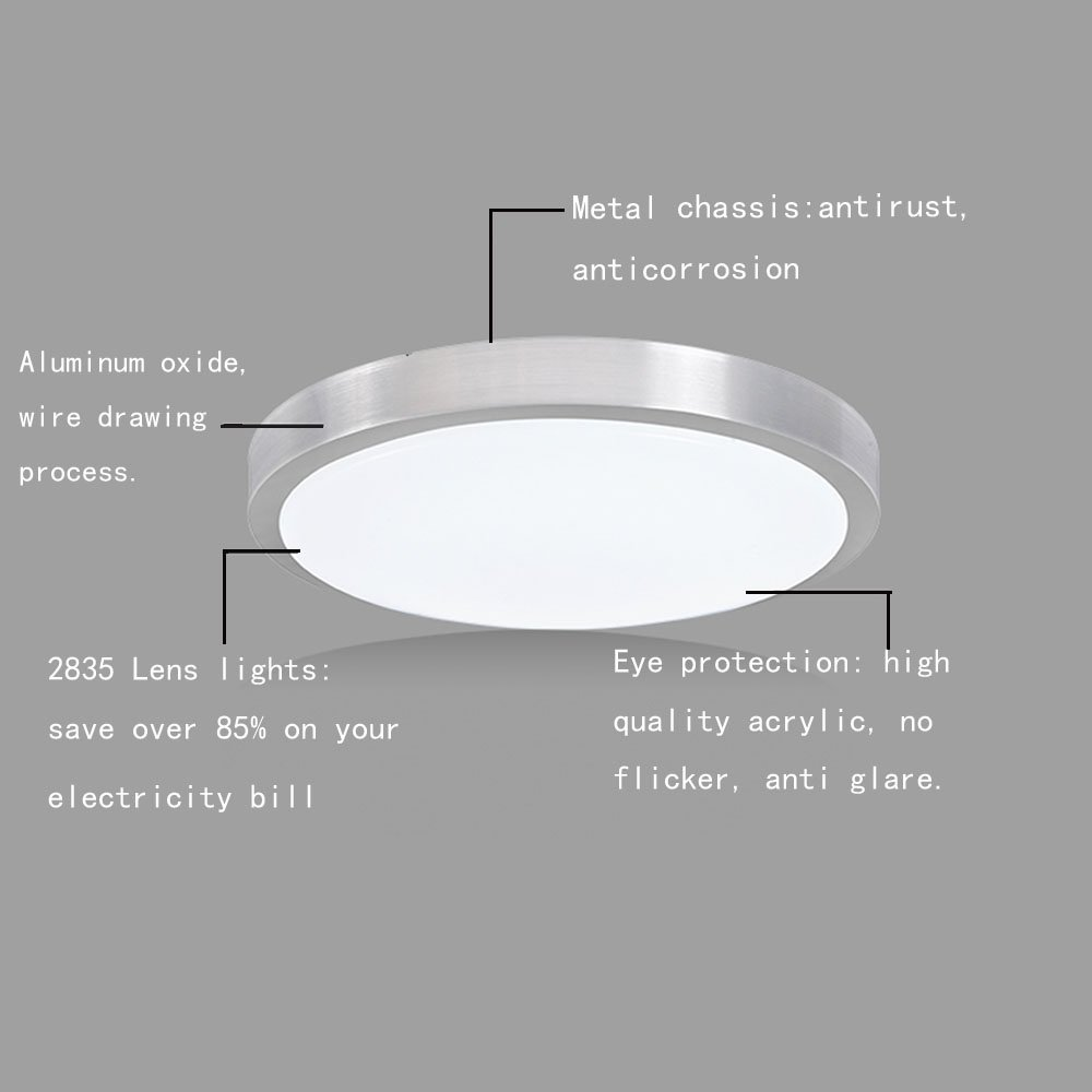 Lighting & Ceiling Fans AFSEMOS LED Flush Mount Ceiling