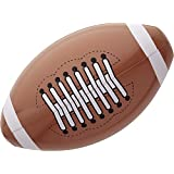 Inflatable American Football 36cm USA Sport Theme Inflatable Blow-Up Party Decoration for Fancy Dress Accessory