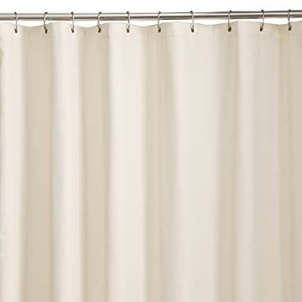 Maytex Microfiber Shower Curtain Liner Bone 70quot