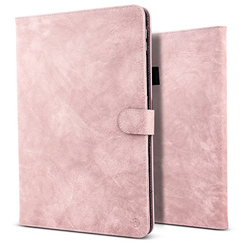 B Belk Ipad Pro 10 5 Case  Vintage Luxury Leather Folio Flip Smart Protective Cover Case With Card Slots   Pencil Holder   Magnetic Wake Sleep For Apple Ipad Pro 10 5 Inch 2017   Pink