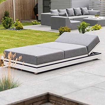 Nova Outdoor Stoff Gartenmöbel Sofa-Set von Sense – Liege, Flanelle ...