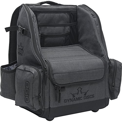 Dynamic Discs Commander Backpack Disc Golf Bag (Heathered Gray)