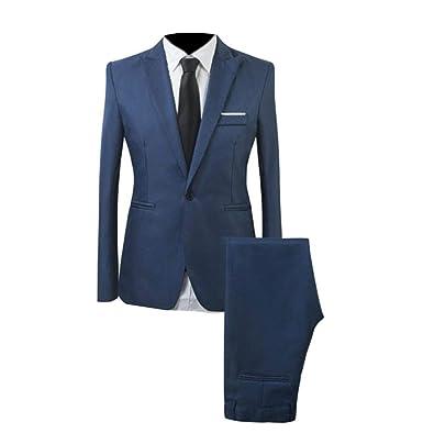 security - Traje - para Hombre Azul Azul Real XX-Large ...