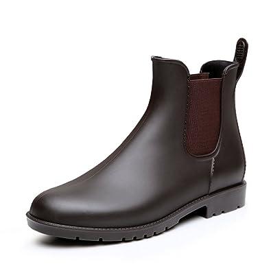 MAIERNISI JESSI Women's Fashion Ankle Short Elastic Design Booties Chelsea Rain Boots