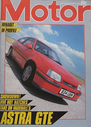 Motor magazine 8/12/1984 featuring Vauxhall, Lancia, Fiat, Ford, VW, MG, Schuler