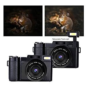 Digital Camera Vlogging Camera 24MP Camcorder by SUNLEA