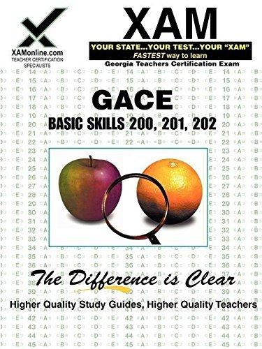 GACE Basic Skills 200, 201, 202 by Sharon Wynne (2006-01-01)