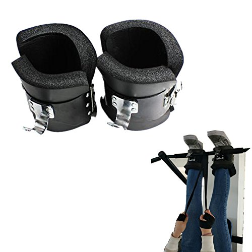 vinmax Anti Gravity Inversion Boots Upside Down Hanging Machine Professional Anti Gravity Inversion Hang Up Boots for Back Pain Relieve Strength/Balance/ Flexibility/Endurance Strengthen by vinmax