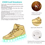 CIOR High Top Led Light Up Shoes 11 Colors Flashing