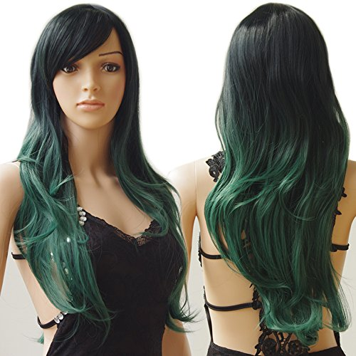 S-noilite Long Ombre Cosplay Hair Wigs Women