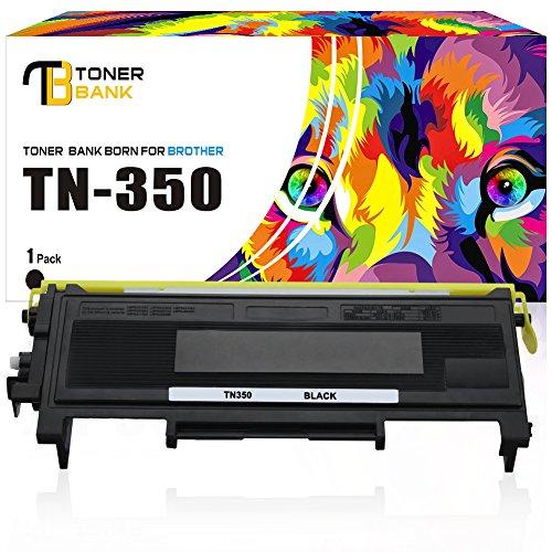 Toner Bank Compatible Toner Cartridge Replacement for Brother TN350 DCP-7020 MFC-7820N HL-2040 MFC-7420 HL-2030 HL-2070N DCP7020 HL2040 Black Brother Laser Toner Drum