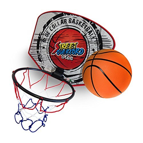 (Twitfish® - Mini Basketball Set - Portable Basket Ball Hoop -)