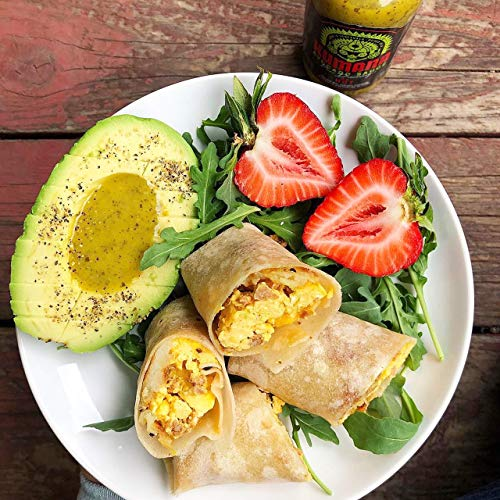 Kumana Avocado Hot Sauce. A Keto Friendly Hot Sauce made with Ripe Avocados, Mango and Habanero Peppers. Ketogenic & Paleo. Gluten Free, No Added Sugar & Low Carb. 13.1 Ounce Bottle. 5