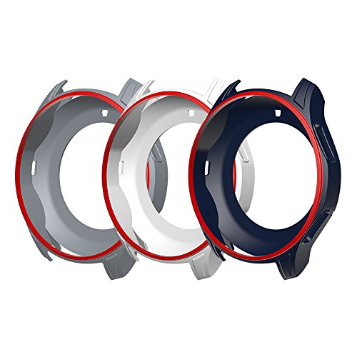 Awinner Case for Gear S3 Frontier SM-R760, Shock-Proof and Shatter-Resistant Protective Band Cover Case for Samsung Gear S3 Frontier SM-R760 Smartwatch -