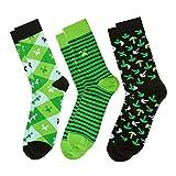 Minecraft Socks 3 Pack, Green, Small