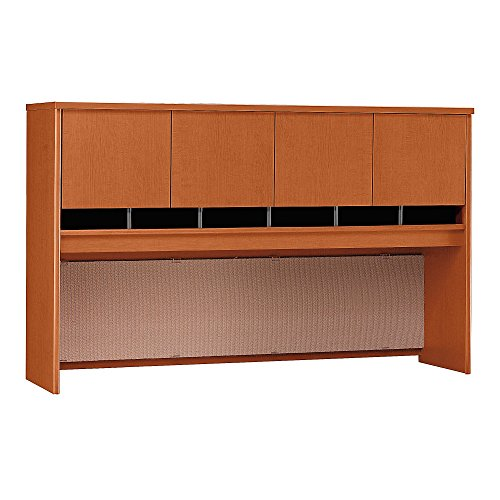 - Bush Business Furniture Series C 72W 4 Door Hutch in Auburn Maple