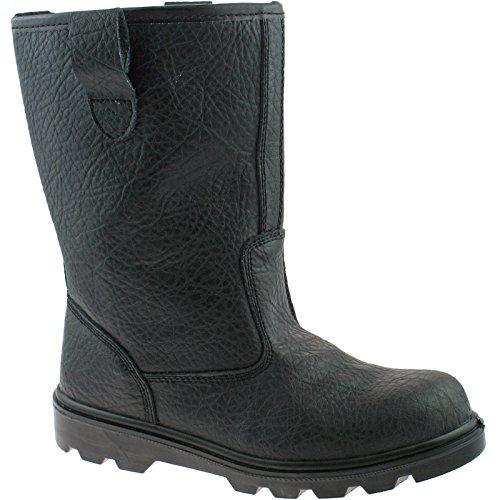 Tan Tan Tan Or 15 Black EU Safety Black Black Black 15 Steel M021 6 Grafters UK Size Rigger UK KD Work 50 Toe Boots Z7f8wP