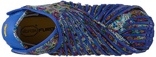da Blue Basse Unisex Vibram Multicolore Ginnastica Adulto Original Fivefingers Furoshiki Scarpe Flower axI7Cw