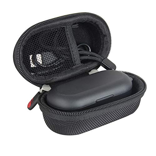 Hermitshell Hard Travel Case for TOZO T10 TWS Bluetooth 5.0 Earbuds True Wireless Stereo Headphones (Black)