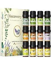 ASAKUKI Essential Oils Set, 100% Pure Therapeutic Grade Aromatherapy Oils for Diffuser,Humidifier, Massage